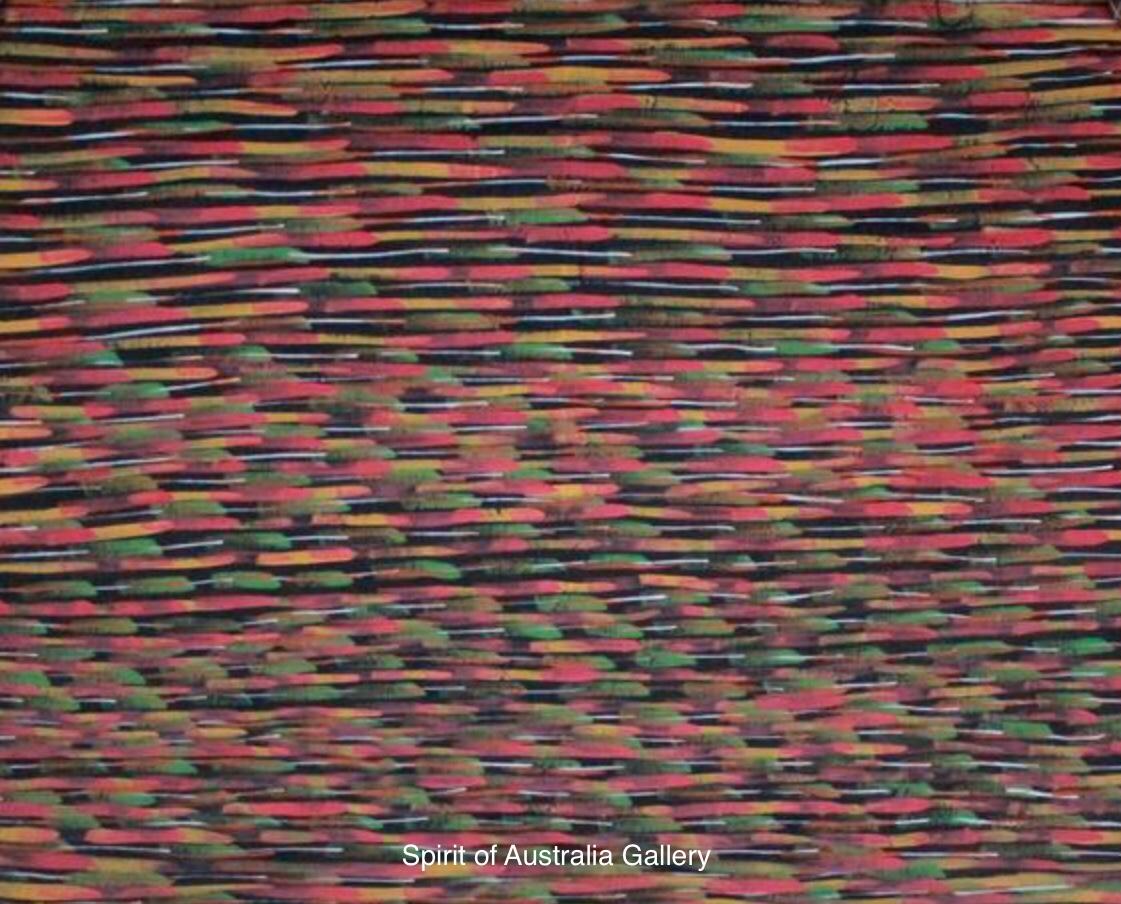 """Aaron Cora, """"Pigface (Ripening)"""", 100x100cm"""