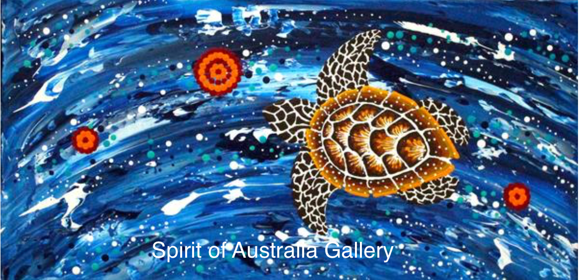 """Anthony Walker, """"Seven sister Turtle increase song cycle"""", 60x30cm"""