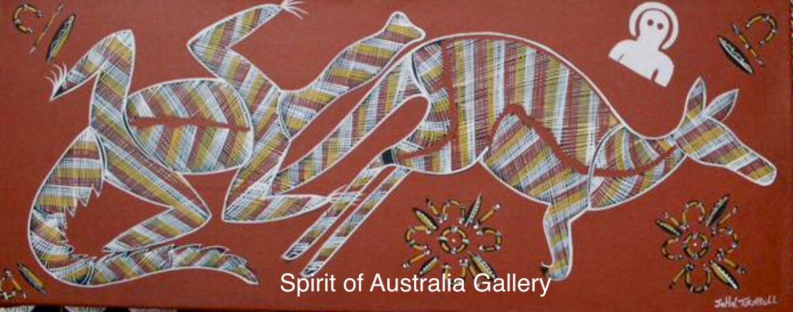 "John Turnbull"", Ancestors"", 100x60cm"