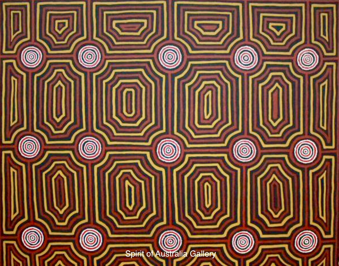 "Joshua J. Jakammarra, ""Artwork"", 140x123cm"