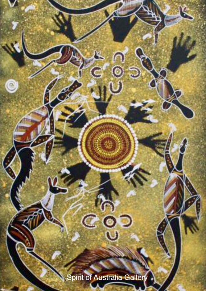 "John Turnbull, ""Spirits Hunting"", 90x50cm"