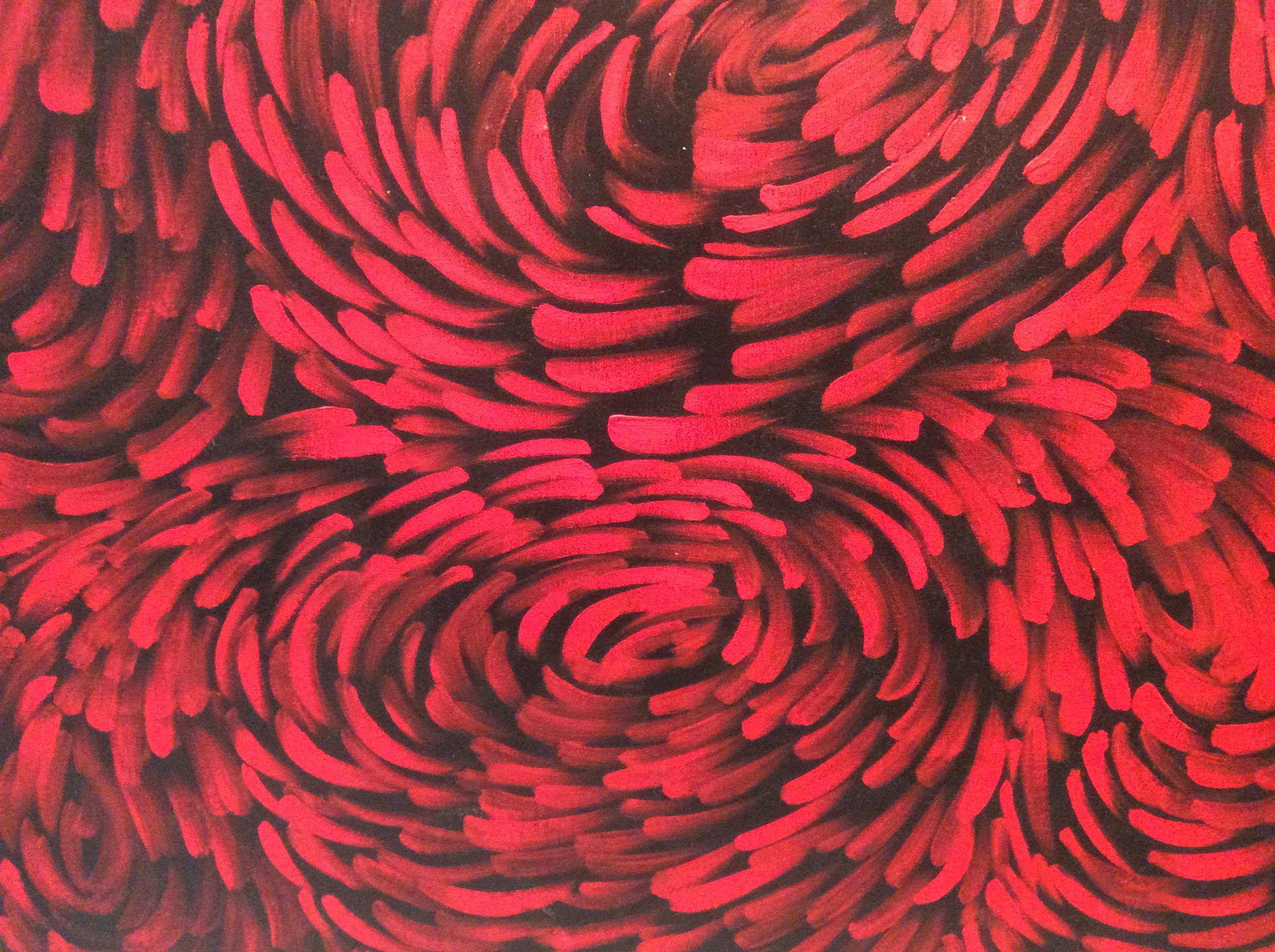 "Russel Kereama, ""Winds"", 200x120cm"