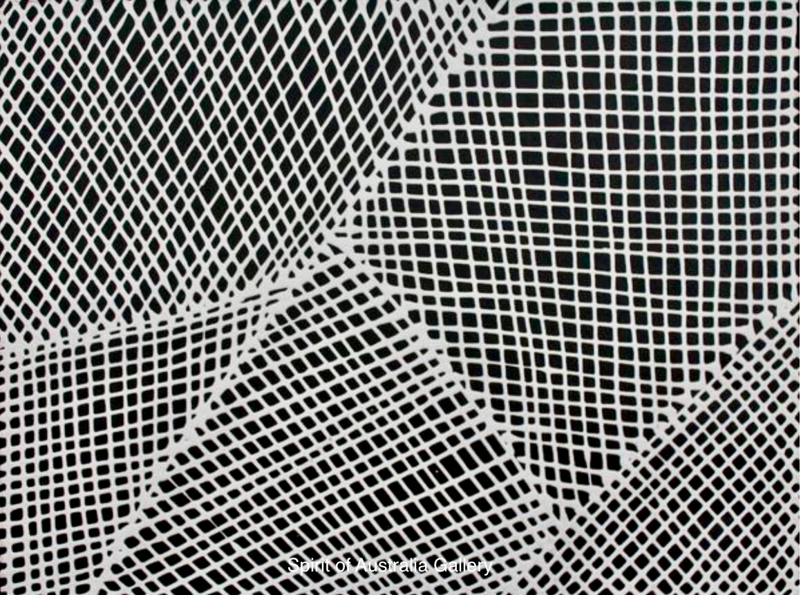 "Yondee, ""Fishing net"", 60x45cm"