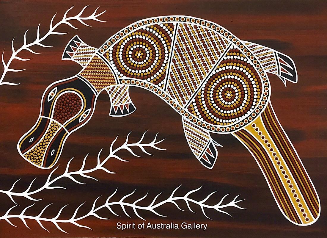 """Phillip Harris,""""Platypus"""", 70x50cm"""