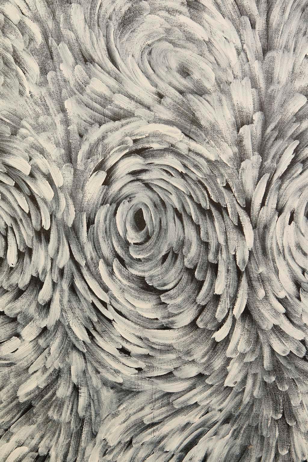 "Russel Kereama, ""Winds"", 175x105cm"