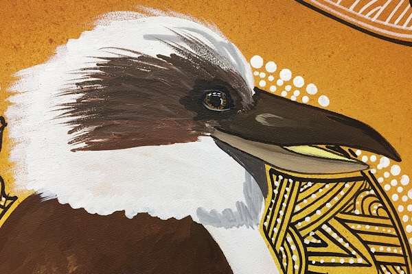 "Colin Wightman, ""Kookaburra"", 75x50cm"
