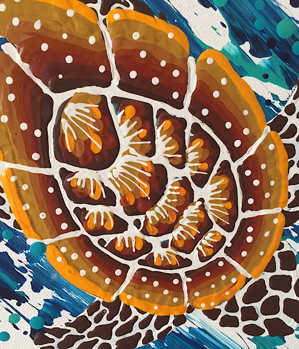 """Anthony Walker, """"Turtle Increase Song Cycle"""", 120x90cm"""